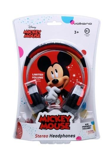 Volkano Disney Mickey Mouse Miki Fare Çocuk Kulaklığı Lisanslı DY-13001-MK Renkli